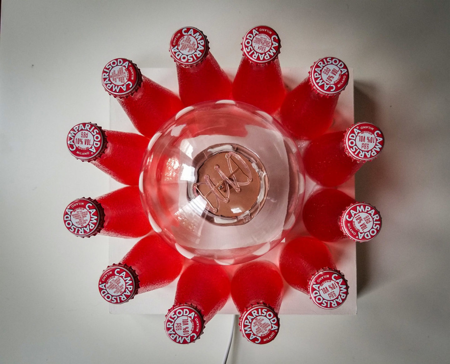 The Campari Soda Lamp