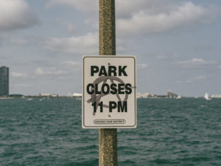Park doesn't close at 11pm / Chicago, IL