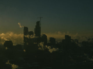 Cold sunrise / Chicago, IL